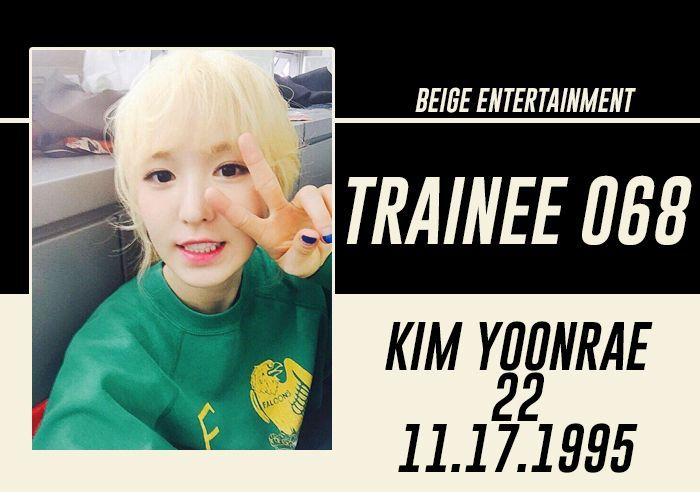 FULL NAME: Kim Yoonrae
