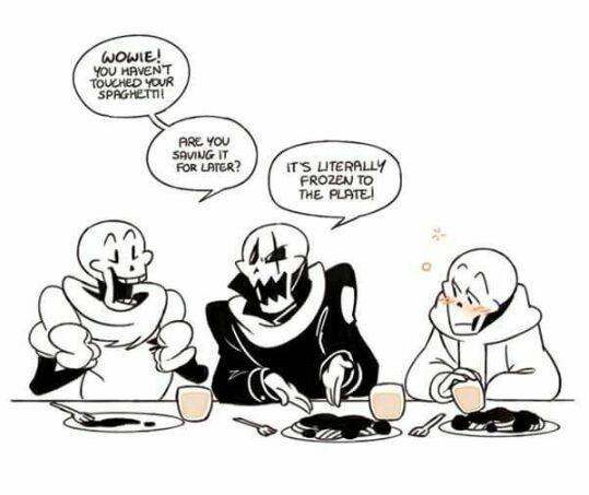 undertale comics 1 spaghetti puns wattpad
