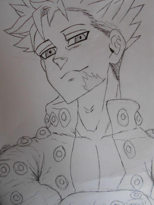 Mes dessins - Seven Deadly Sins / Nanatsu No Taizai - Wattpad