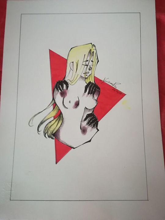 Disegno Sulla Violenza Sulle Donne.I Miei Disegni No Alla Violenza Sulle Donne Wattpad