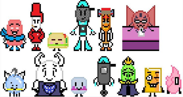 Object Showundertale Crossovers Some More Sprites Wattpad