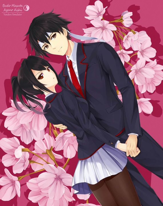 """""""Can you post your favorite pic of budo x yandere?"""""""