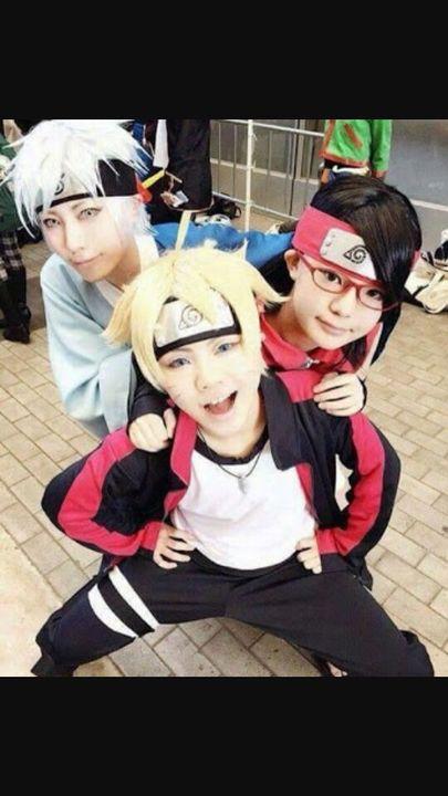 Mejores Cosplay De Naruto Sarada Boruto Y Mitsuki