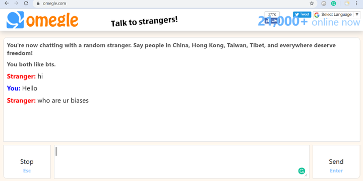 Like text chat omegle 10 Chat