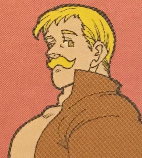 - Lo mismo digo Escanor, te has dejado el bigote