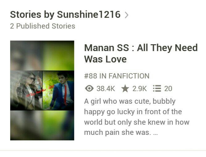 😘😘😘 And the second thing which I just noticed is All They Need Was Love is on 88th position in FANFICTION! 🎉🎊🎉🎊🎉🎊