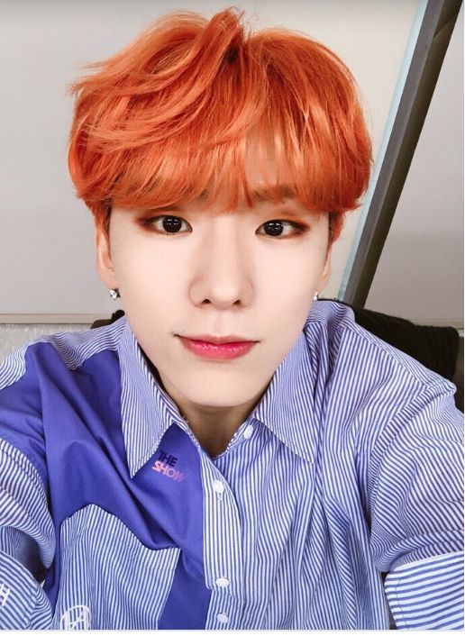 Dear Kihyun, From your amazing vocals to your adorable smile, you and the other 6 members of Monsta(er) X have made me smile (and maybe even cry a bit) with your goofiness and you love for Monbebes