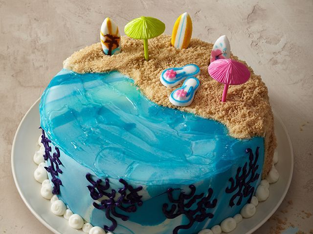 пляж картинки для торта знаю счет