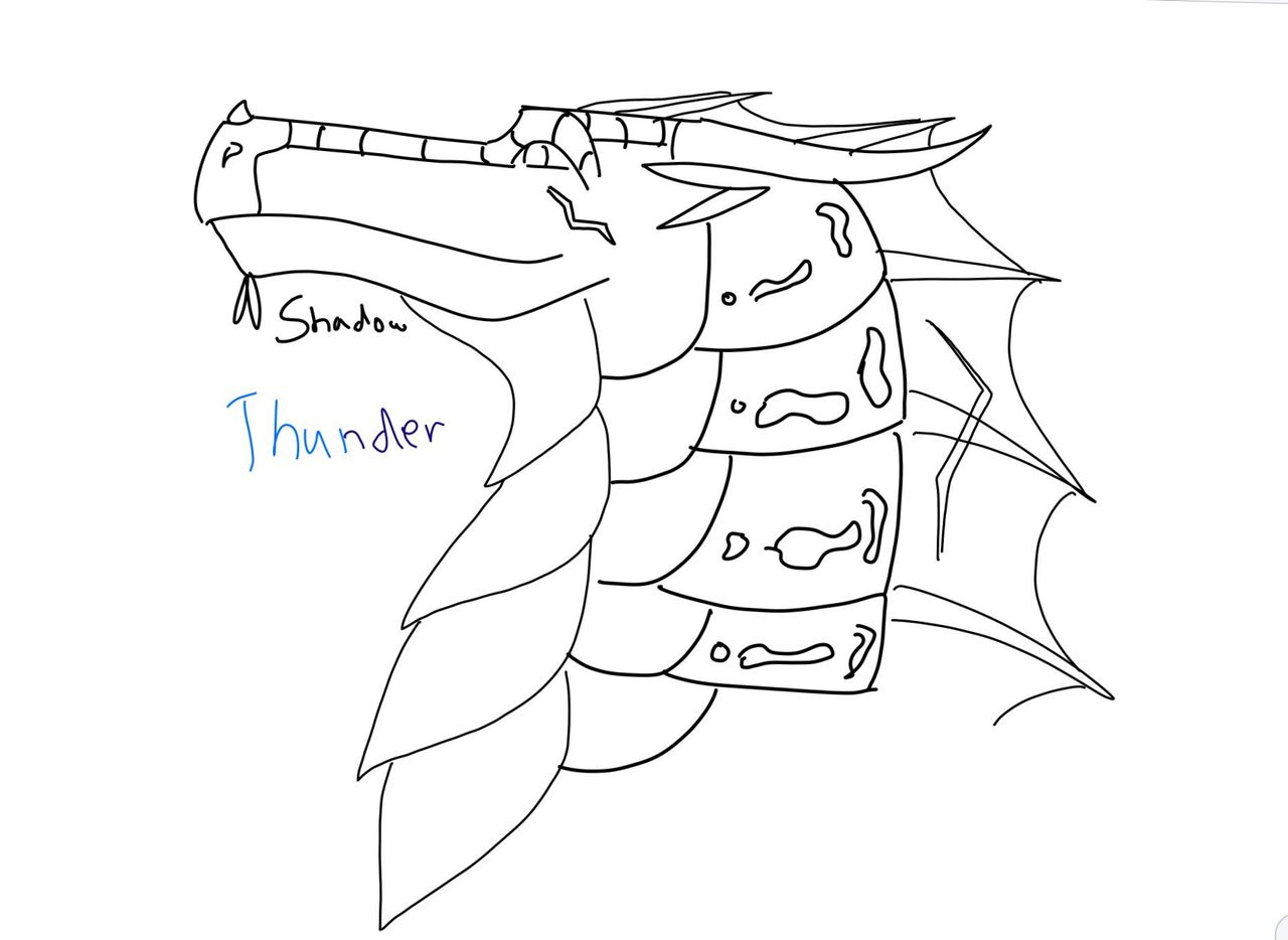 Coloring book for notability - Ok So You Probably Saw The Fanart Post Before This One Soooo I Also Drew __thunder__