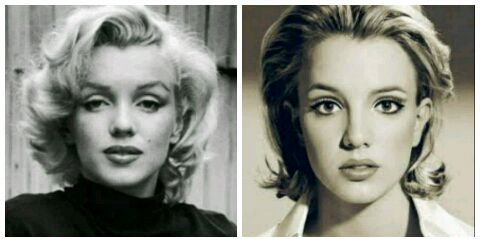 Britney spears marilyn monroe think, that