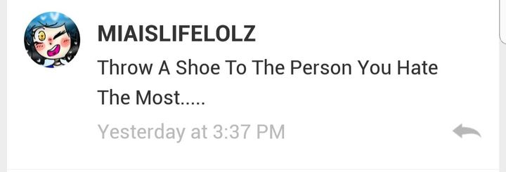 Uni: *throws a shoe at duni*