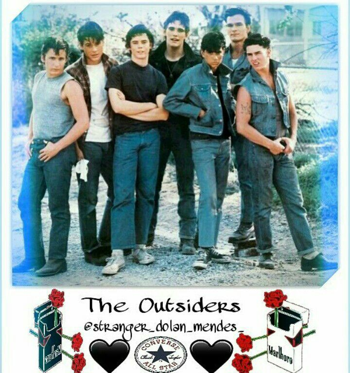 The Outsiders Preferences, Short Stories, Etc  - My Instagram Edits