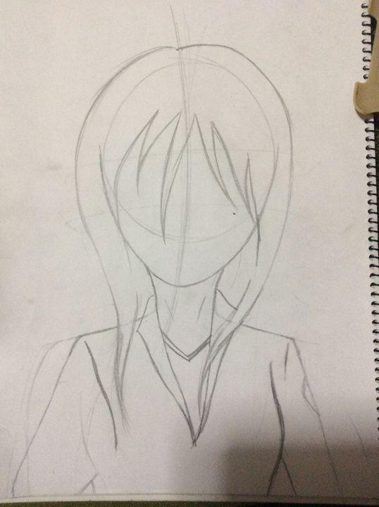Desenhos De Uma Otaku Como Desenhar Uma Menina De Anime