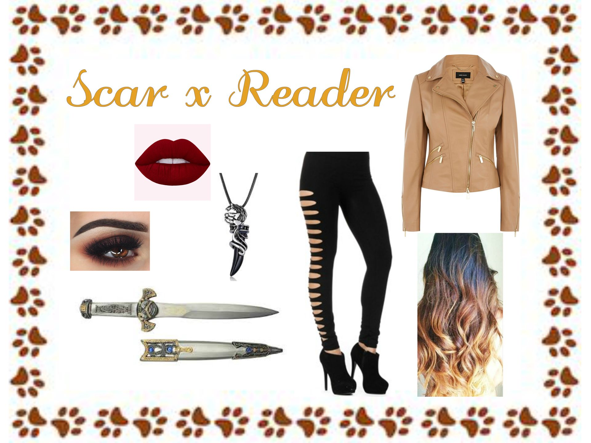 Random Characters x Reader Oneshots (Completed) - Humanized Scar x