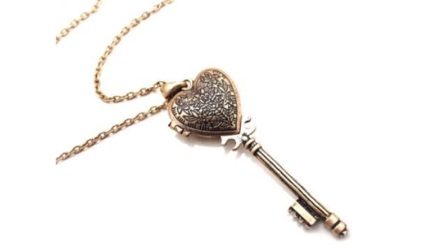 Awhile later, I made a heart key