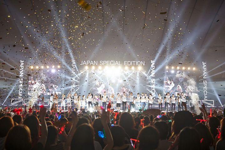 KYOCERA DOME, OSAKA JAPAN - MONSTEVERSE 2018 DAY ONE - 12/25/18