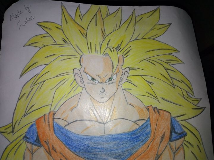 ℳℽ ᗅℛᝨ ℬᝪᝪk Goku Super Saiyan 3 Wattpad