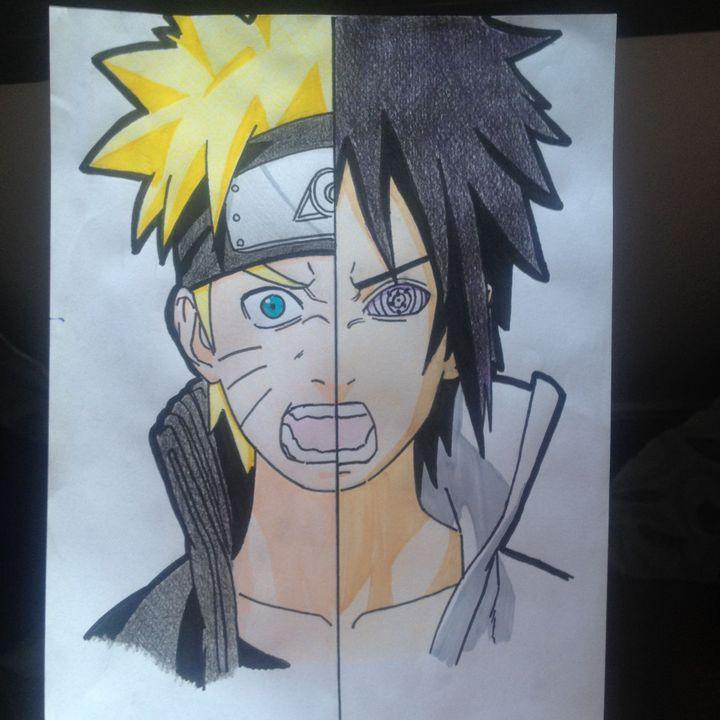 Dessiner Façon Otakus Naruto Sasuke Wattpad