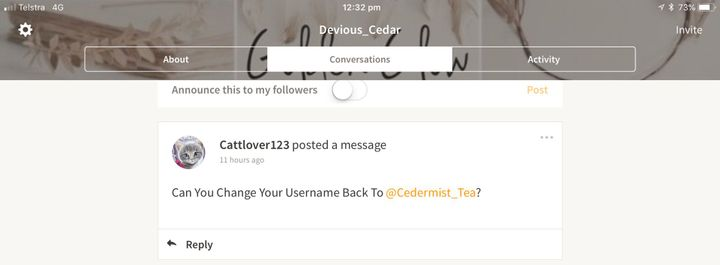 how to change your username on wattpad