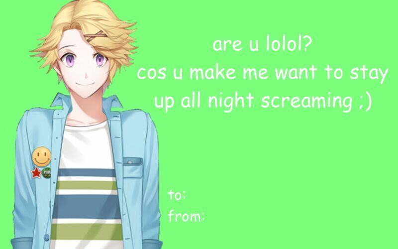 Mystic Messenger Valentine S Day Cards Yoosung Wattpad