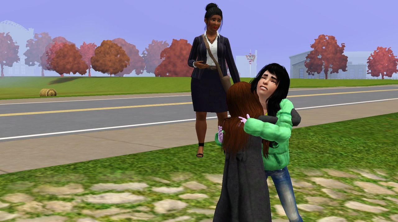 Shortly after Hope's funeral I had to say goodbye to Meadow, Aidan, the triplets, and Jill