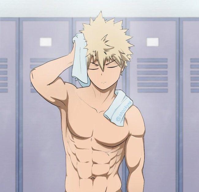 Bakugou Katsuki / Boku no hero académia | Wolf boy anime