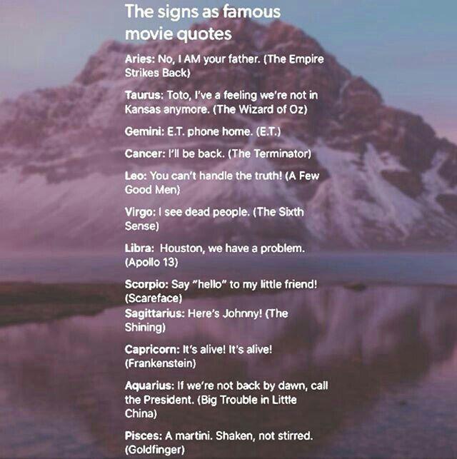 Zodiac signs - 25 - Wattpad