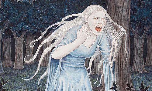 Su llanto, o grito, se cree es capaz hasta de romper o astillar cristales