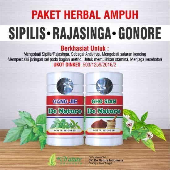 Obat Gang Jie dan Gho Siah merupakan obat herbal yang di khususkan untuk penderita penyakit kelamin