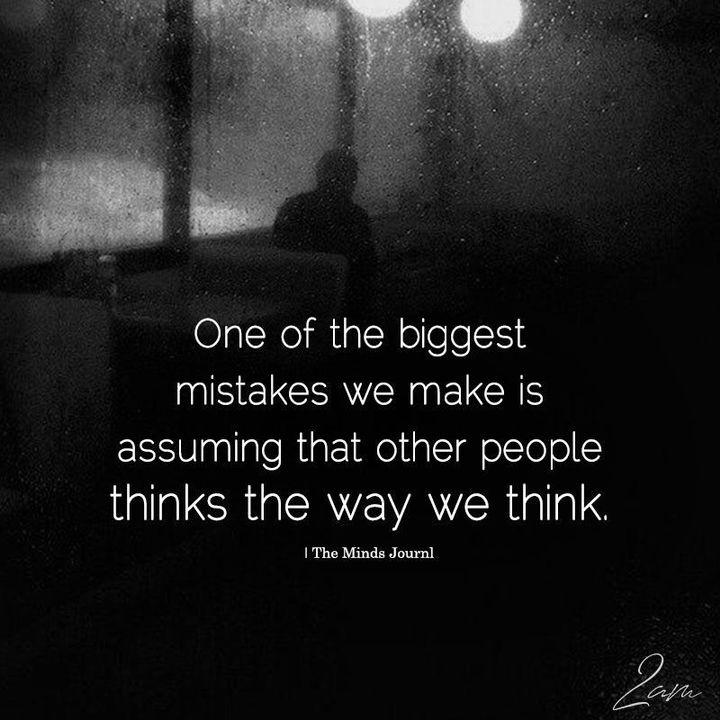 *Think