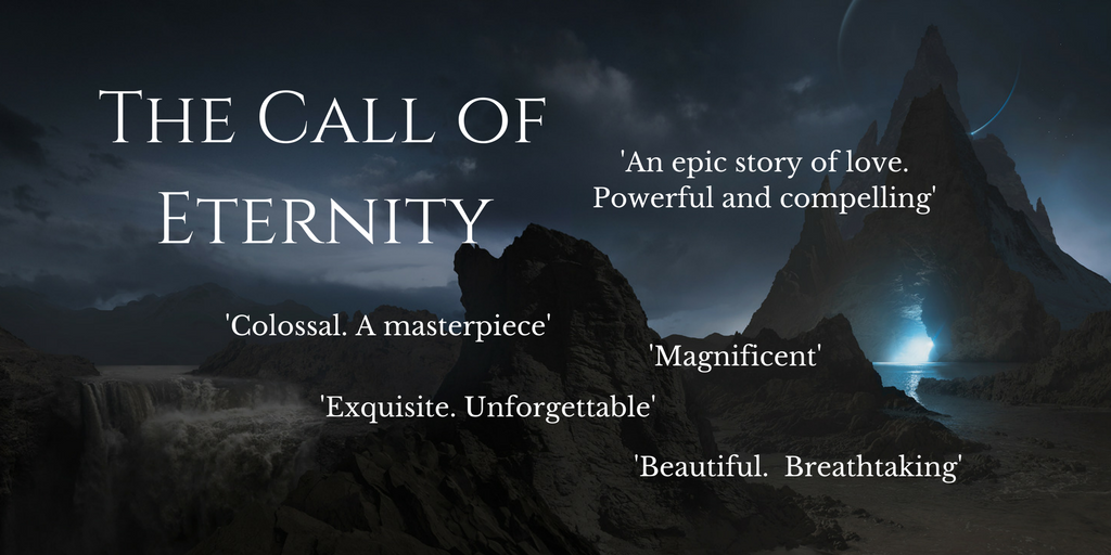 Against a sweeping canvas of empires and kingdoms, The Call of Eternity explores themes of agency, sacrifice, immortality, betrayal, love, destiny, and enduring faith in the unknowable