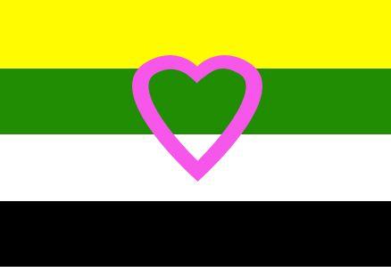 Skoliosexual flag