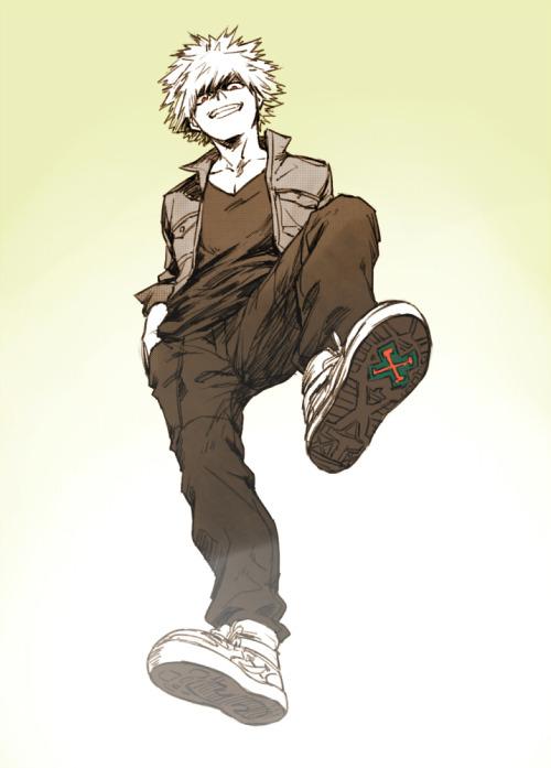 Bakugou X Reader {Nhs Alumni}