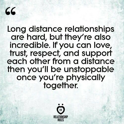 **Dedicated to all my long distance friends