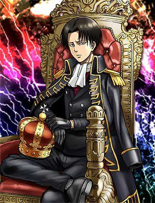 Levi Ackerman X Reader (One-Shots) - Prince Levi X Princess