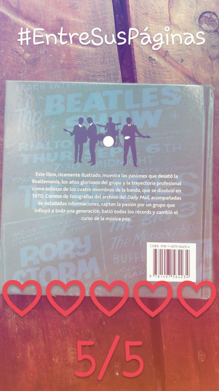 《Este libro, ricamente ilustrado, muestra las pasiones que desató la Beatlemanía, los años gloriosos del grupo y la trayectoria profesional como solistas de los cuatro miembros de la banda, que se disolvió en 1970