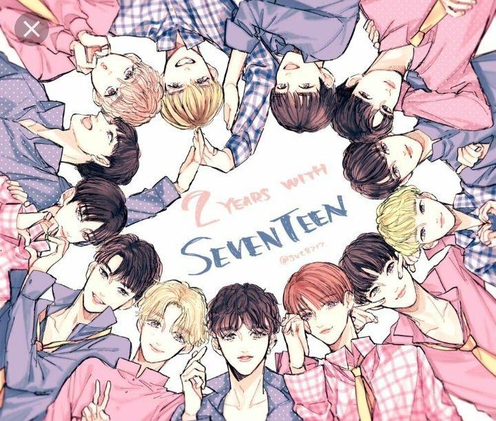 Kpop Anime Wallpaper Seventeen Wattpad