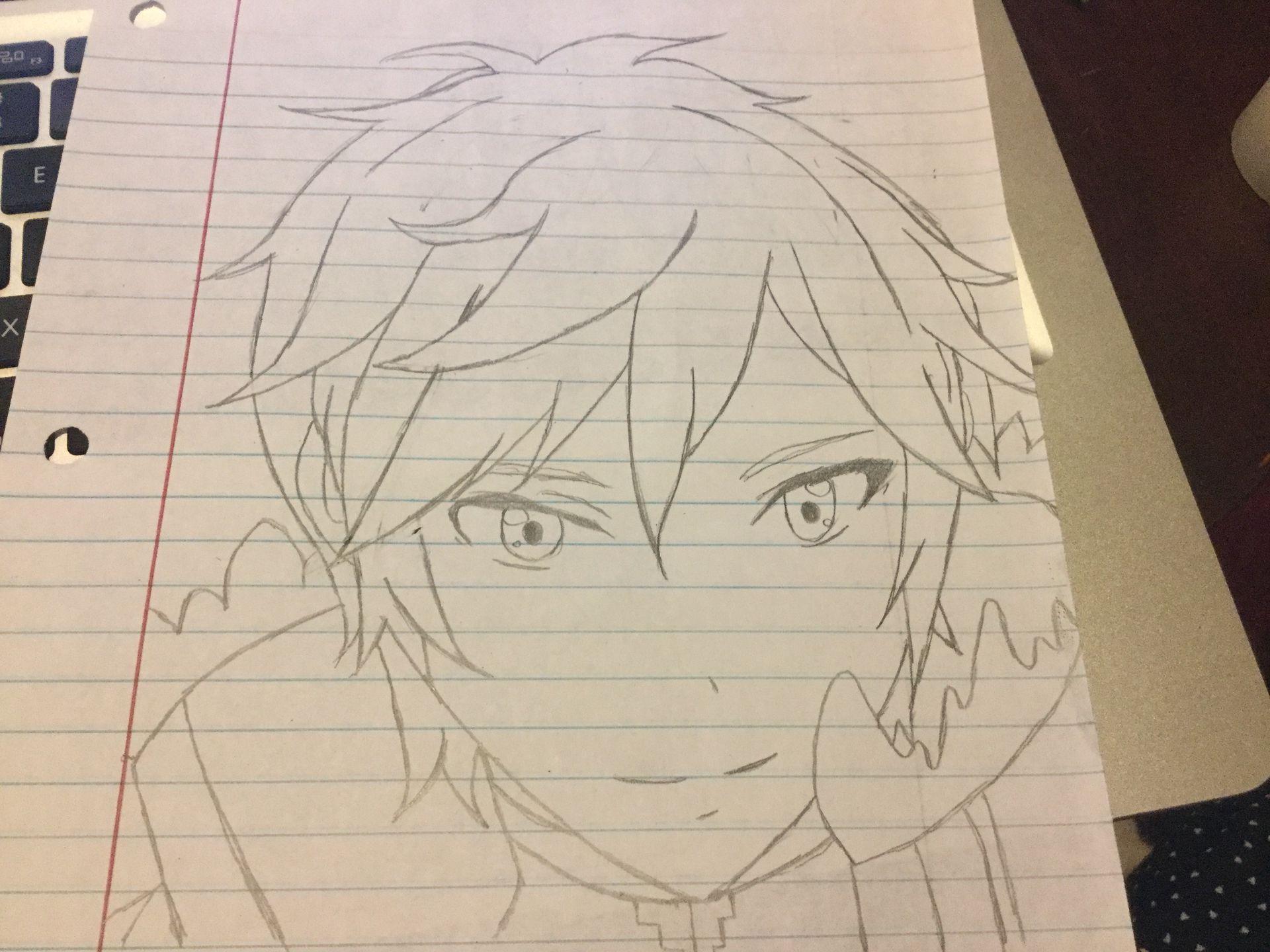 Line Art Zero : Aldnoah zero fanart kaizuka inaho by pohala on deviantart