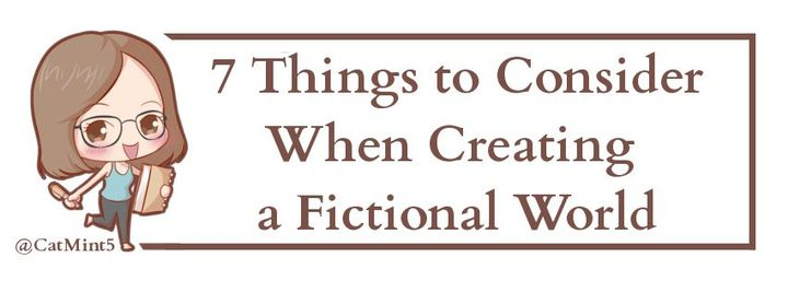 Writing a book set in our world can have its challenges - you have to research different professions, for example - but when your story takes place in a fictional Fantasy/Sci-Fi/Paranormal setting, those challenges increase