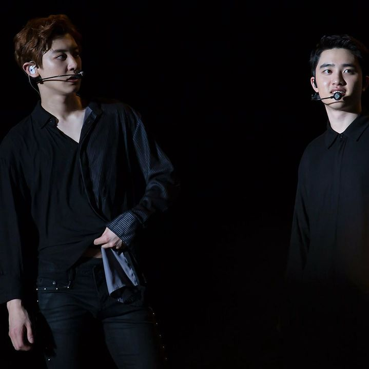 Chanyeol why are you always doing that in front of Kyungsoo
