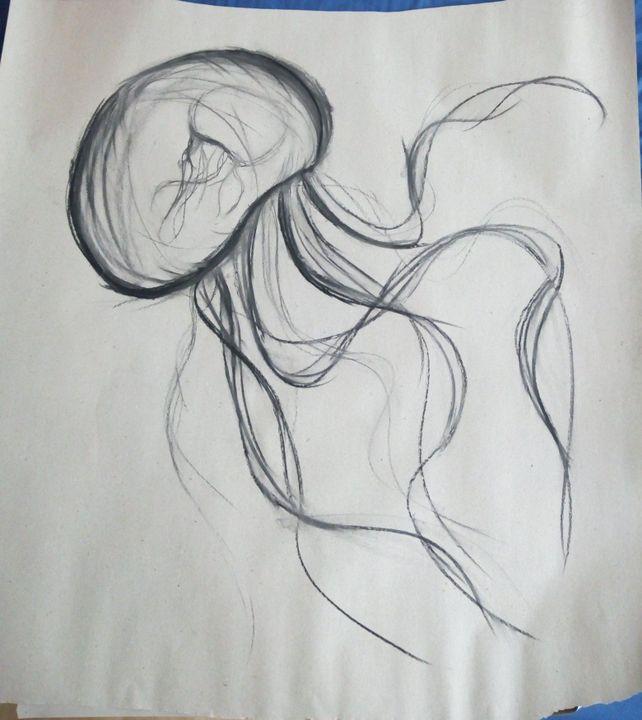 qualle zeichnen