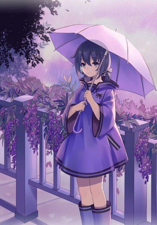 من يطلب صور انمي تحت المطر بمظلة Wattpad