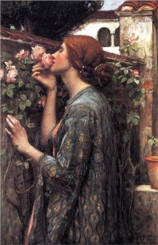 Sufletul trandafirului de John William Waterhouse (1849-1917)