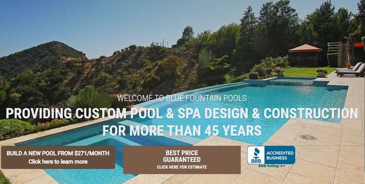 Blue Fountain Pools and Spa is good to go to bring proficient pool developments administrations for you in moderate cost