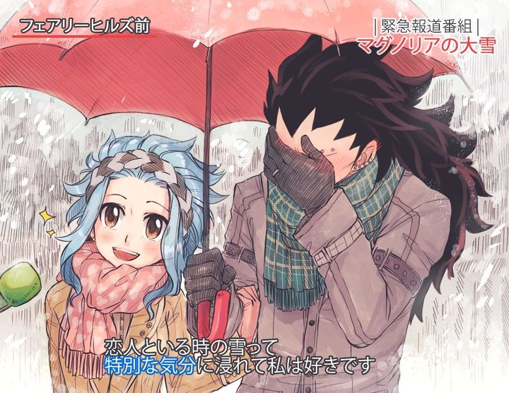 Fairy Tail One Shots (Requests Closed) - Gajeel x Reader:Christmas