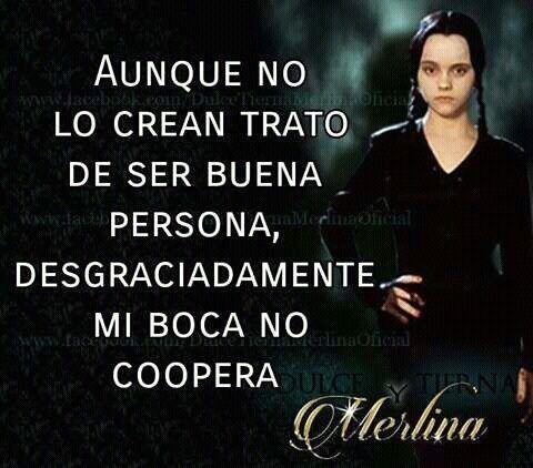Frases Sarcásticas De Merlina Addams Y Mucho Más Por Si Te