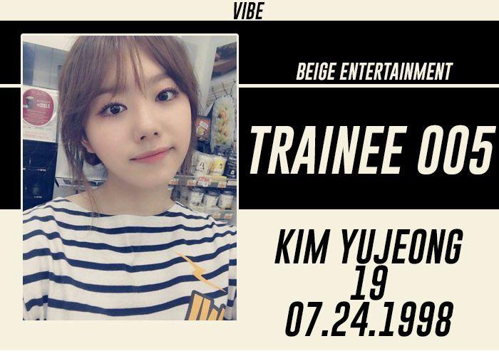 FULL NAME: Kim YujeongSTAGE NAME: IllyNICKNAMES: Lili, Yunicorn, Dora BIRTHDATE: July 24, 1998KOREAN AGE: 19HEIGHT: 5'3 in