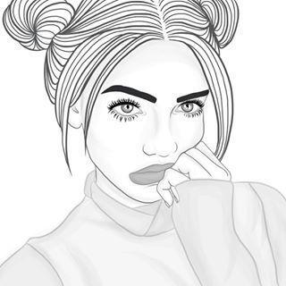imagens girl tumblr desenho wattpad