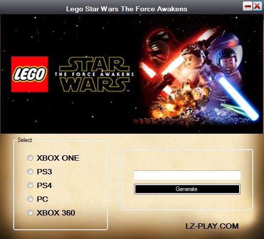 Lego Star Wars The Force Awakens Redeem Code Generator - Wattpad