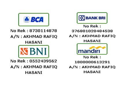 jika berminat dengan obat kami Silahkan bisa melakukan transfer ke salah satu rekening yang telah di percaya oleh perusahaan via BRI,BCA,MANDIRI,BNI dan Proses pengiriman melalui Tiki,Pos,Jne,J&t